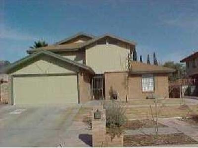 El Paso Single Family Home For Sale: 11825 Sierra Azul Drive