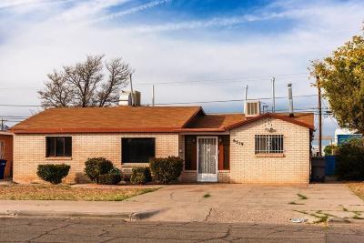El Paso Single Family Home For Sale: 6519 Aztec Road
