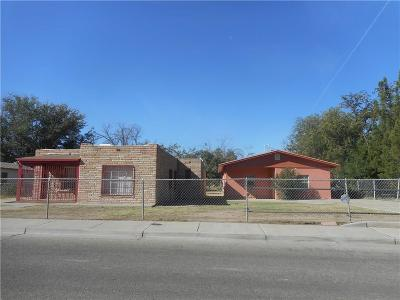 El Paso Single Family Home For Sale: 517 & 521 Myra Street