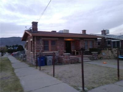 El Paso Single Family Home For Sale: 1901 Boone