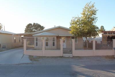 Canutillo Single Family Home For Sale: 6743 Third Street