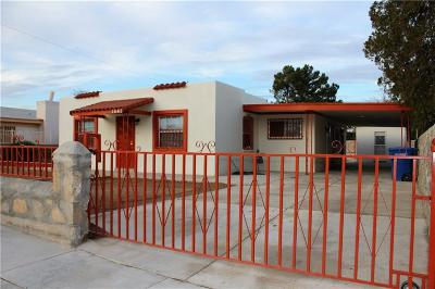 El Paso Single Family Home For Sale: 7647 Hacienda Avenue