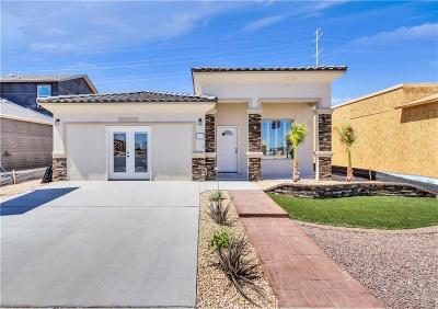 El Paso Single Family Home For Sale: 14820 Bobby Joe Hill