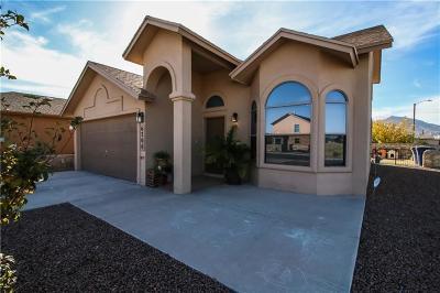 El Paso Single Family Home For Sale: 6200 Lovebird Lane