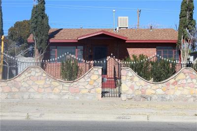El Paso Multi Family Home For Sale: 3101 Sacramento Avenue #1&2