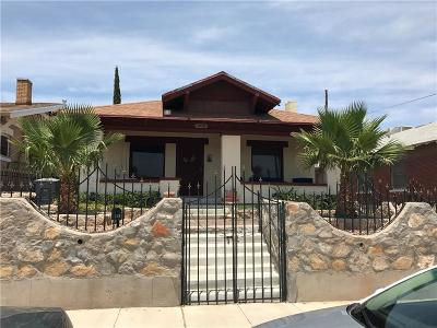 Single Family Home For Sale: 3119 Tularosa Avenue