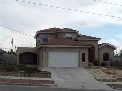 El Paso Single Family Home For Sale: 4017 Moonlight Avenue