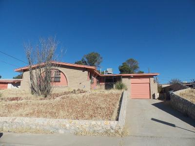 El Paso Single Family Home For Sale: 10413 Springwood Drive