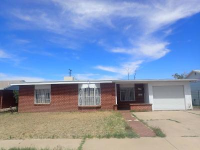 El Paso Single Family Home For Sale: 6519 Mohawk