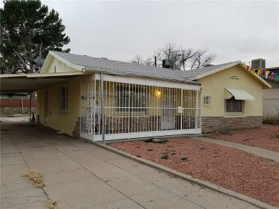 El Paso Single Family Home For Sale: 5328 Timberwolf Drive