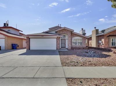 El Paso TX Single Family Home For Sale: $127,000