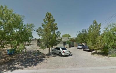 San Elizario Single Family Home For Sale: 13310 Fresnillo Drive