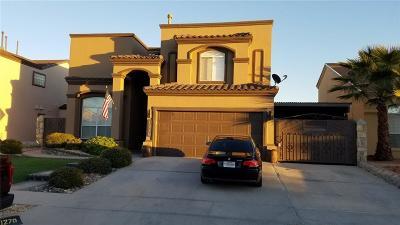 El Paso Single Family Home For Sale: 1270 Olga Mapula Drive