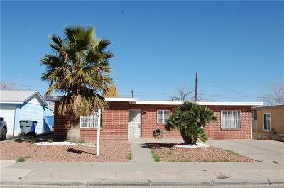 El Paso TX Single Family Home For Sale: $84,000
