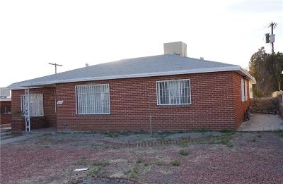 El Paso Single Family Home For Sale: 935 Argentina Street