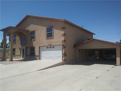 Socorro Single Family Home For Sale: 11408 Datsun