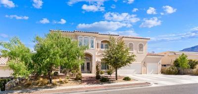 El Paso Single Family Home For Sale: 6305 Franklin Desert Drive
