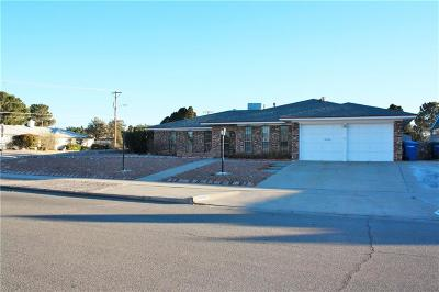 El Paso Single Family Home For Sale: 10636 Causeway Drive