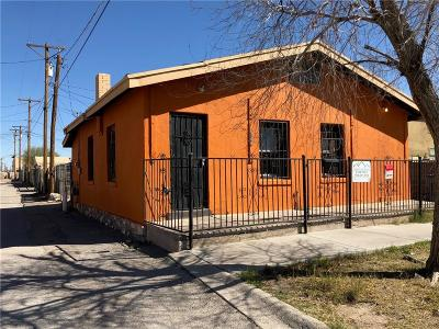 El Paso Single Family Home For Sale: 508 San Marcial Street