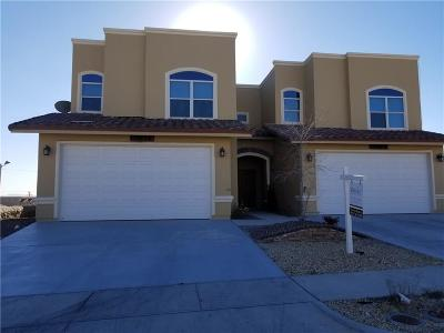 El Paso Single Family Home For Sale: 11686 Dos Palmas Drive #A and B