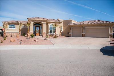 El Paso Single Family Home For Sale: 14225 Nobel Rock Court