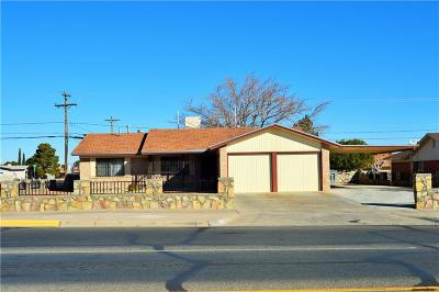 El Paso Single Family Home For Sale: 4701 Sun Valley Drive