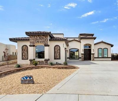 Horizon City Single Family Home For Sale: 825 York