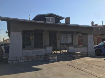 El Paso Single Family Home For Sale: 3612 Pershing Drive