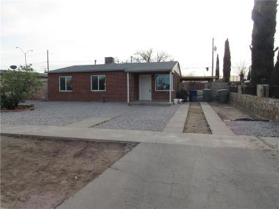 El Paso Single Family Home For Sale: 516 Ben Swain Drive