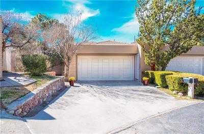 El Paso Single Family Home For Sale: 5851 Mira Serena Drive