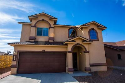 Horizon City Single Family Home For Sale: 1283 Rustic Bend Place