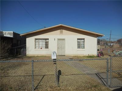 El Paso Single Family Home For Sale: 8149 Griffin Way