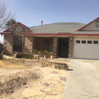 El Paso Single Family Home For Sale: 813 Rotterdam
