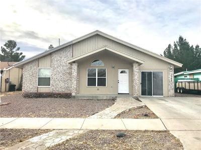 Horizon City Single Family Home For Sale: 14500 Encantado Drive