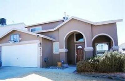 El Paso Single Family Home For Sale: 6332 Casper Ridge Drive