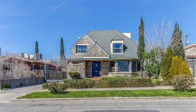 El Paso Single Family Home For Sale: 925 Robinson Avenue