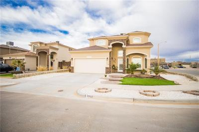 El Paso Single Family Home For Sale: 3092 Java Chip Place