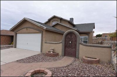 Horizon City Single Family Home For Sale: 12289 Sun Bridge Place