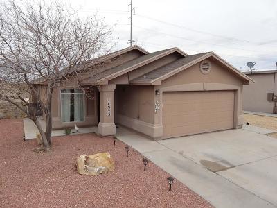 Horizon City Single Family Home For Sale: 14325 Desert Orchid Drive
