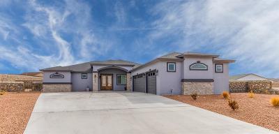 Canutillo Single Family Home For Sale: 824 Gold Beach Drive