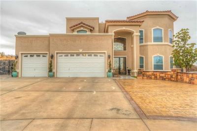 Horizon City Single Family Home For Sale: 301 Inverness Drive