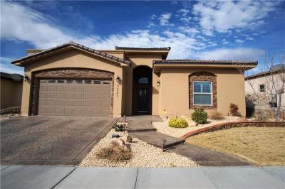 El Paso Single Family Home For Sale: 7245 Canyon Wren Avenue