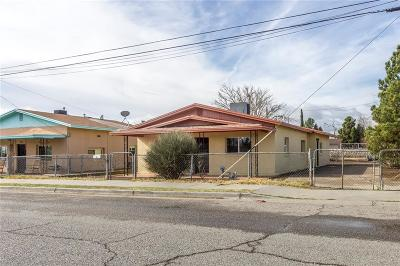 El Paso Single Family Home For Sale: 8716 Winchester Road #1