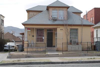 El Paso Multi Family Home For Sale: 808 Mundy Drive #3