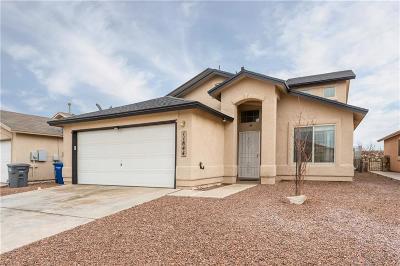 El Paso Single Family Home For Sale: 11844 Jim Webb Drive