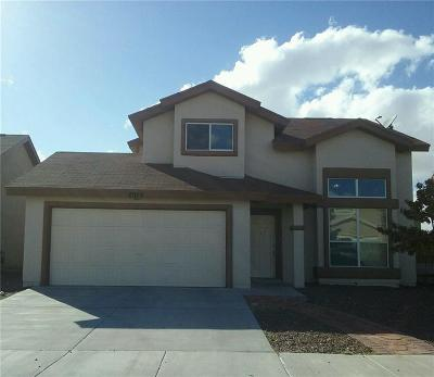 El Paso Single Family Home For Sale: 2925 Pino Blanco Place