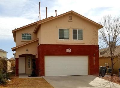 El Paso Single Family Home For Sale: 12376 Tierra Alaska Avenue