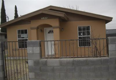 Canutillo Single Family Home For Sale: 7105 3rd Street