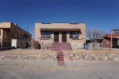 El Paso Multi Family Home For Sale: 3609 Sacramento Avenue #1 & 2