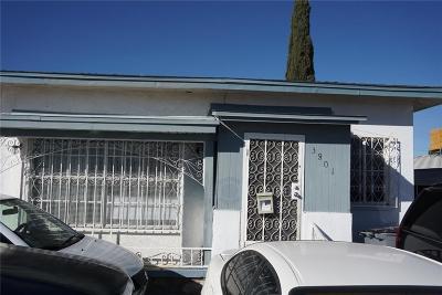 El Paso Multi Family Home For Sale: 3801 Fillmore Avenue #1 & 2